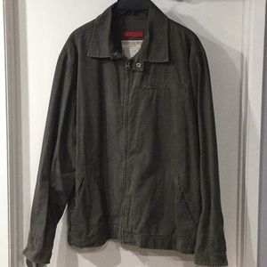 Old Navy Khaki Jacket Large
